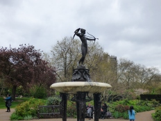 The Huntress Fountain.