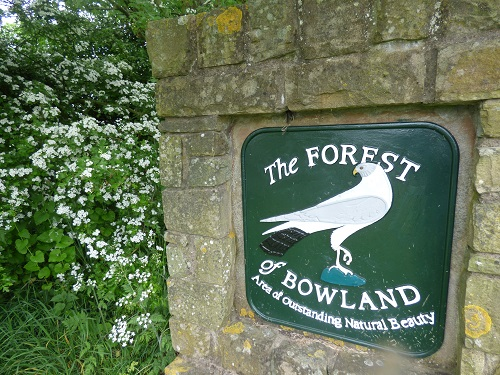 Camping and a walk in the Forest Of Bowland.