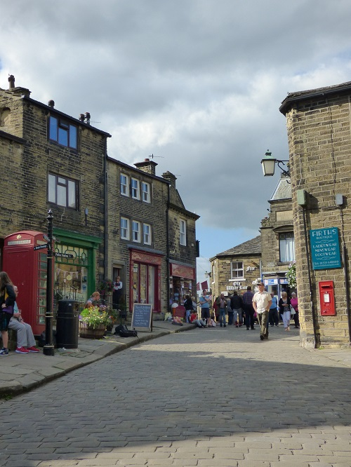 Hebden Bridge and Haworth.