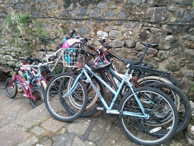A family friendly bike ride ~ Lancaster, Hest Bank and Morecambe.