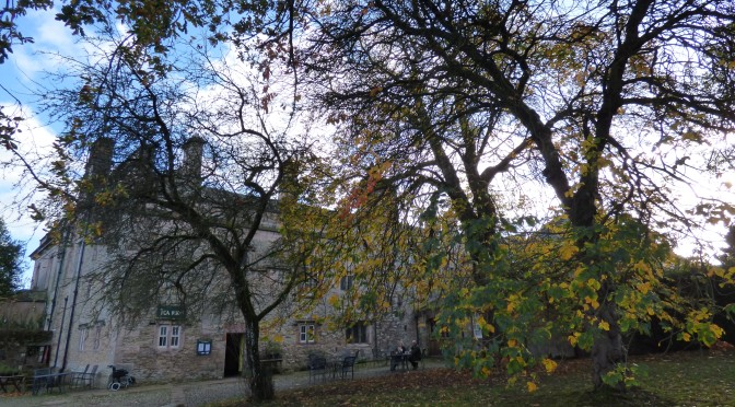 Two Eden Valley Houses in Autumn.