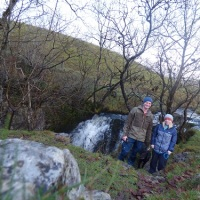 A waterfall walk in the Dales.