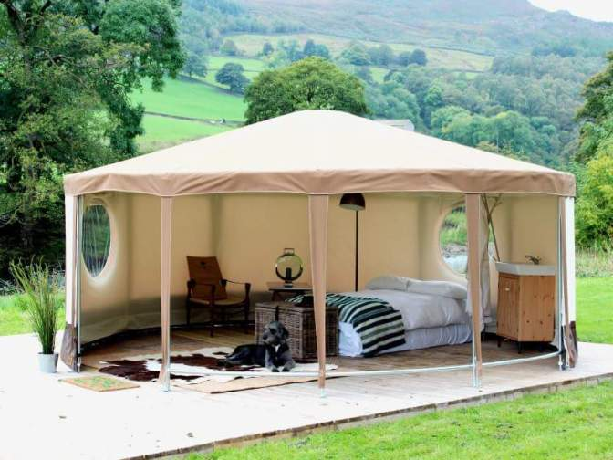 Ribble Valley ~ Glamping Ideas.
