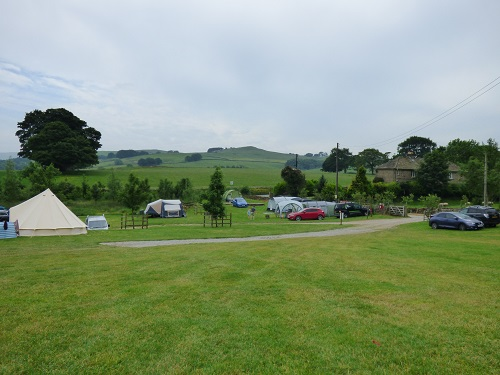 Camping trip ~ Catgill Campsite, Bolton Abbey, Yorkshire Dales.