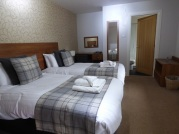 Uigg Lodge ~ Our hotel room.