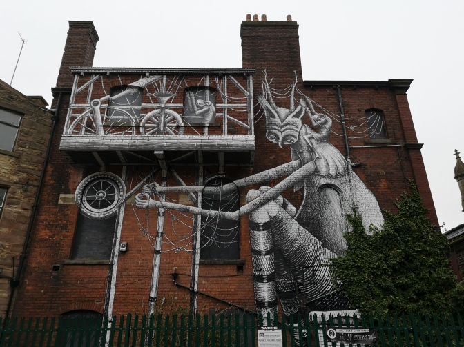 Street Art In Blackburn.