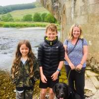 Enjoying Nature Along The River Wharfe, Yorkshire Dales.