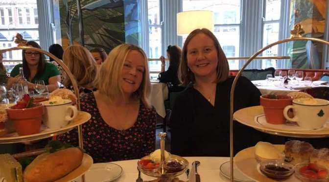 Afternoon Tea at the Ivy, Leeds.