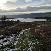 Sabden and Churn Clough Reservoir.