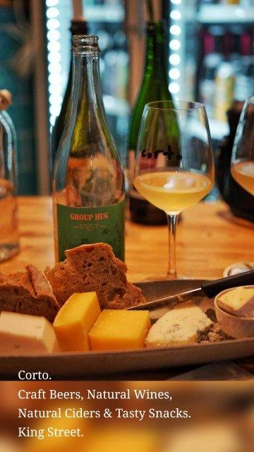 Corto. Craft Beers, Natural Wines, Natural Ciders & Tasty Snacks. King Street.